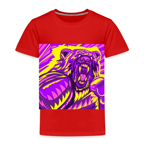 PurpleBoxinBear - Toddler Premium T-Shirt
