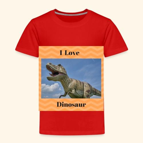 I Love dinosaure - Toddler Premium T-Shirt
