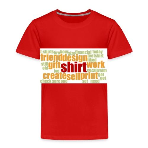HotjarHomepagePoll2015 - Toddler Premium T-Shirt