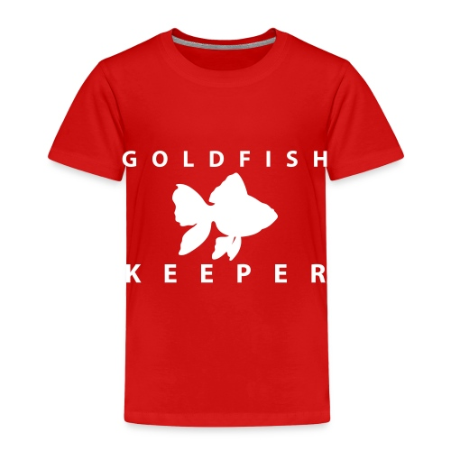 Goldfish Keeper (telescope) - Toddler Premium T-Shirt