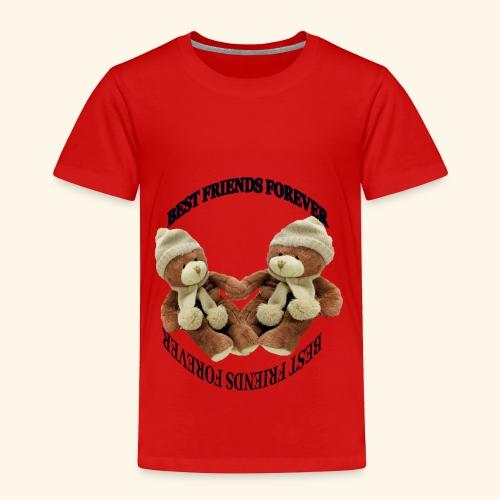 Best Friends forever design - Toddler Premium T-Shirt