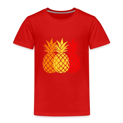 pineapple duo - Toddler Premium T-Shirt