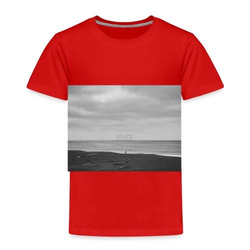 Black and White Beach Photo by Trevor J. Brown - Toddler Premium T-Shirt