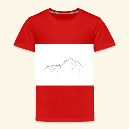Tiny Mountain - Toddler Premium T-Shirt