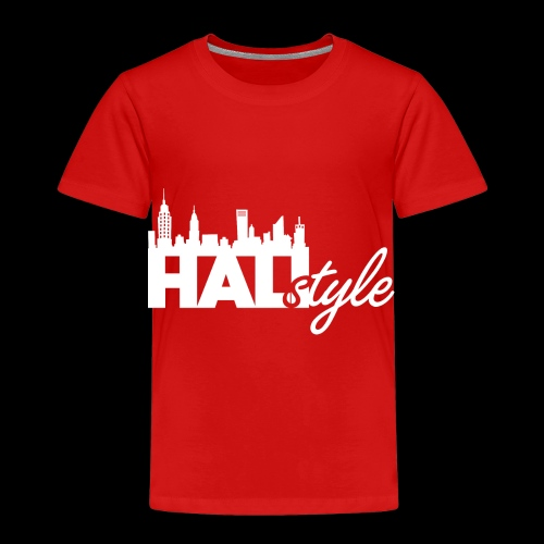 HALIStyle City Skyline - Toddler Premium T-Shirt