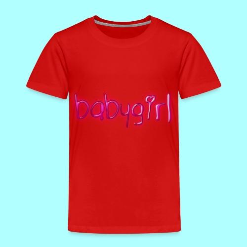 babygirl - Toddler Premium T-Shirt