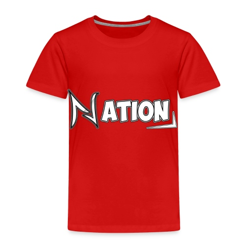 Nation Logo Design - Toddler Premium T-Shirt
