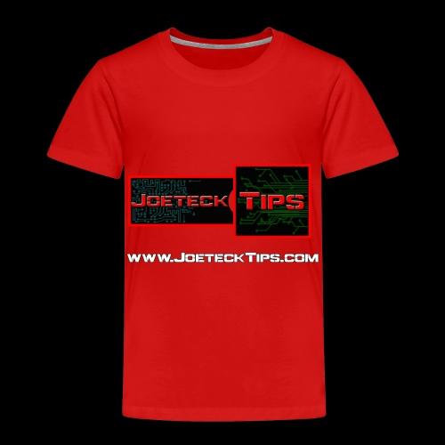 JoeteckTips - Toddler Premium T-Shirt