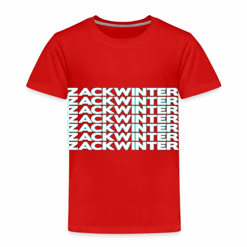 zackwinter - Toddler Premium T-Shirt