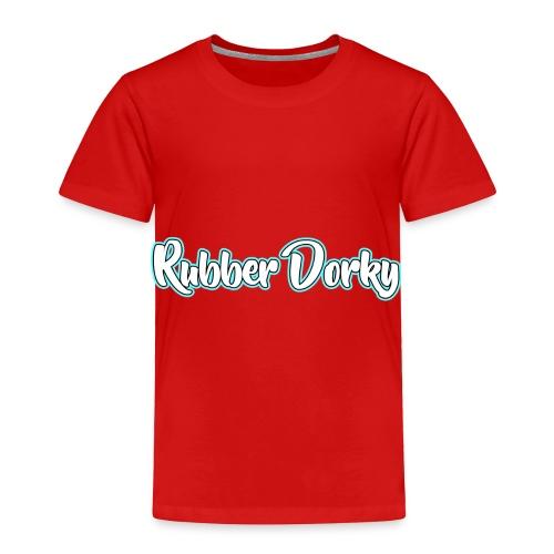 Rubber Dorky - Logo (name) - Toddler Premium T-Shirt