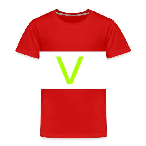 V letter for vast - Toddler Premium T-Shirt