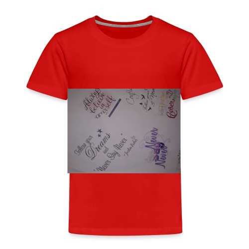 Words of courage - Toddler Premium T-Shirt