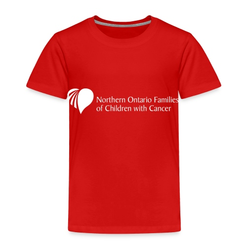 Northern Ontario Families of Children with Cancer - Toddler Premium T-Shirt