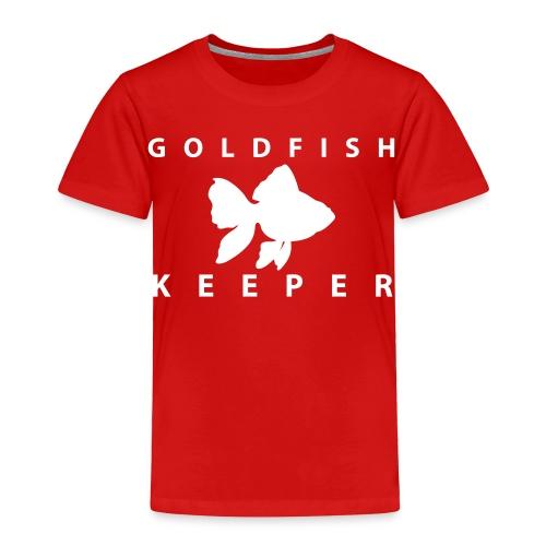 Goldfish Keeper (telescope) - Toddler Premium T-Shirt