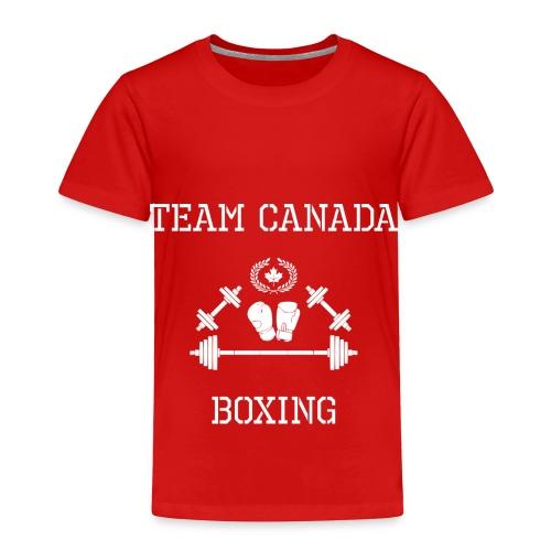 Team Canada Boxing - Toddler Premium T-Shirt
