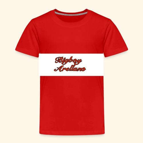 Bigboy Arellano - Toddler Premium T-Shirt