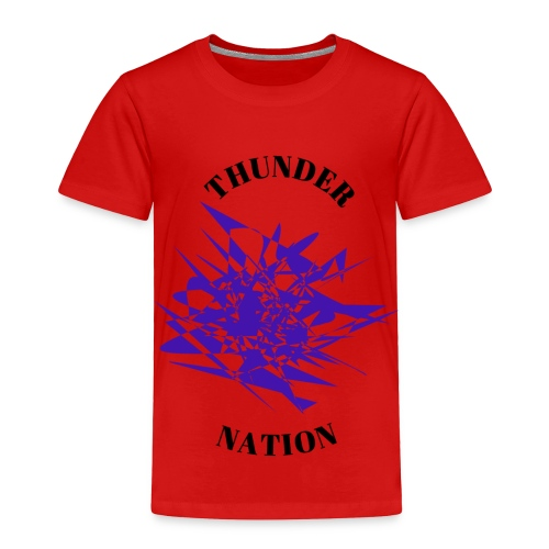 Thunder Nation Purple Star - Toddler Premium T-Shirt