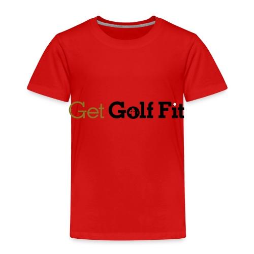 CH GetGolfFit Logo Final Green - Toddler Premium T-Shirt