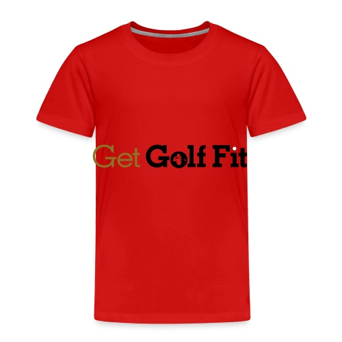CH GetGolfFit Logo Final Green - Toddler Premium T-Shirt
