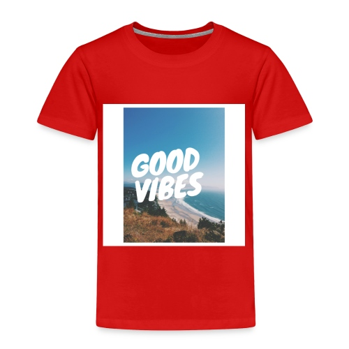 Good Vibes - Toddler Premium T-Shirt