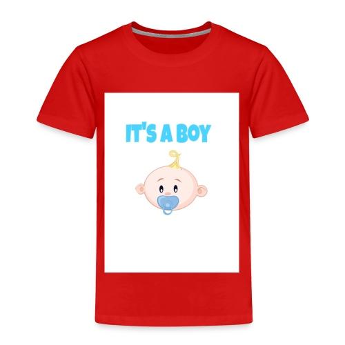 It-s_a_boy_tshirt - Toddler Premium T-Shirt