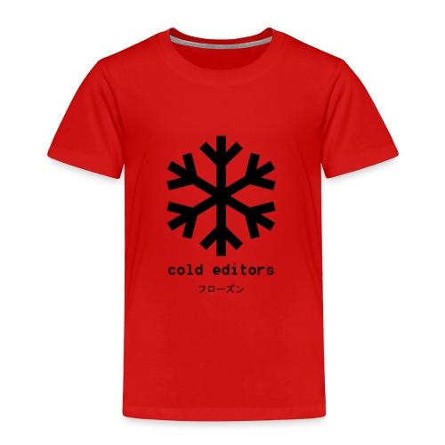 cold editors-frozen - Toddler Premium T-Shirt