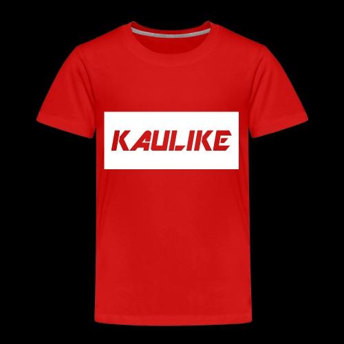 Black hoodie & Red shirt - Toddler Premium T-Shirt