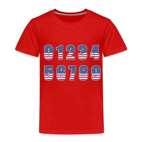 Independence day 4th of july T Shirt - Toddler Premium T-Shirt