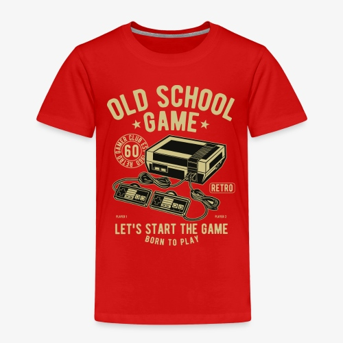 Old School Game - Toddler Premium T-Shirt