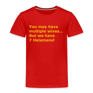Multiple Wives - Toddler Premium T-Shirt