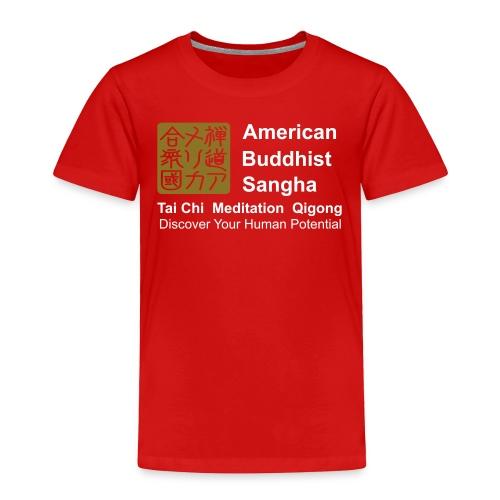 American Buddhist Sangha / Zen Do USA - Toddler Premium T-Shirt