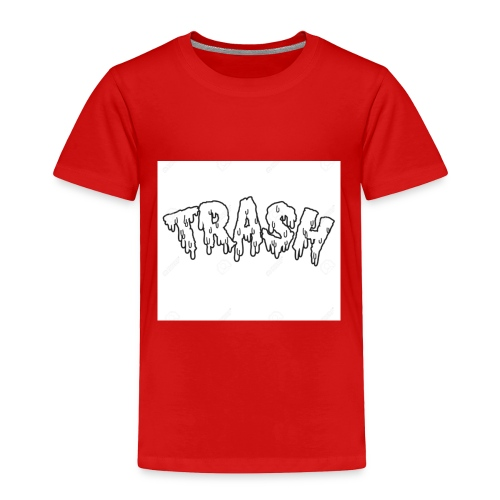 6.GODZZPRODUCTION u trash👾 - Toddler Premium T-Shirt