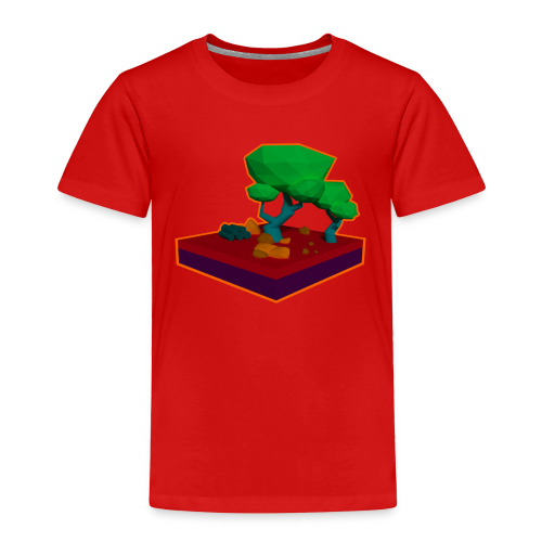 Mini Forest LowPoly - Toddler Premium T-Shirt