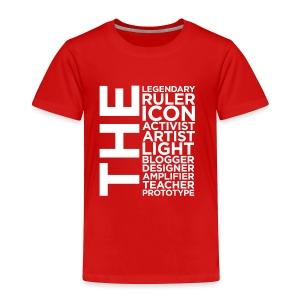 The Ruler Collection - Toddler Premium T-Shirt