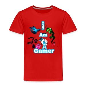 I am a gear - Toddler Premium T-Shirt