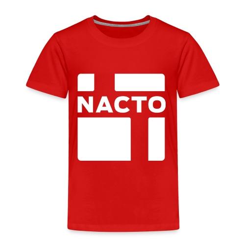 NACTO_logo_white - Toddler Premium T-Shirt