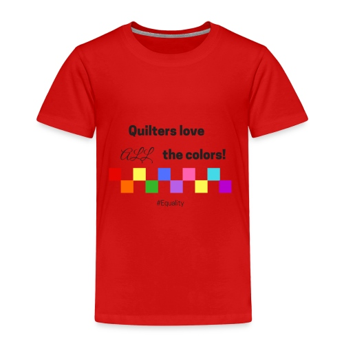Love Color - Toddler Premium T-Shirt