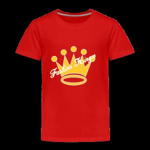 Fashion Kingz Clothing Official Crown Logo - Toddler Premium T-Shirt