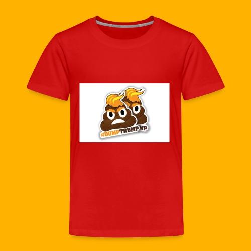 dumpTrump - Toddler Premium T-Shirt