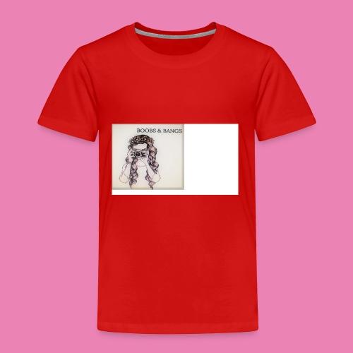 Boobs & Bangs Phone Case - Toddler Premium T-Shirt