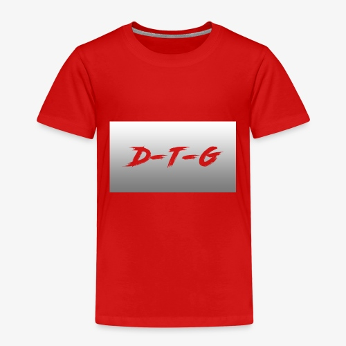 D-T-G White Design - Toddler Premium T-Shirt