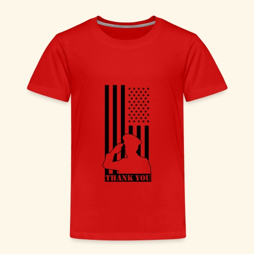 Veterans Day is coming up - Toddler Premium T-Shirt