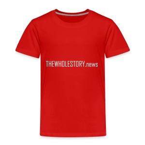 tws back logo - Toddler Premium T-Shirt