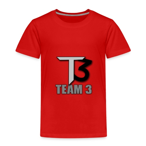 TEAM 3 LOGO - Toddler Premium T-Shirt