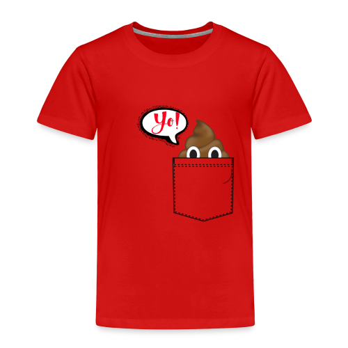 Pocket O Poop - Toddler Premium T-Shirt