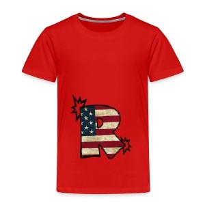 SuppzReviews R Logo - Toddler Premium T-Shirt