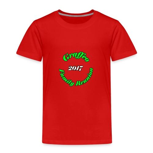 Graffeo Family Reunion - Toddler Premium T-Shirt