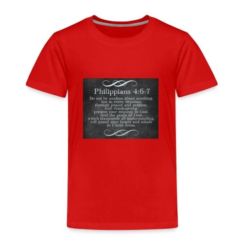 Inspirational Scripture Wear - Toddler Premium T-Shirt