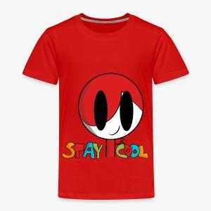 Stay Cool Kids Shirt by GamingKid3838 - Toddler Premium T-Shirt