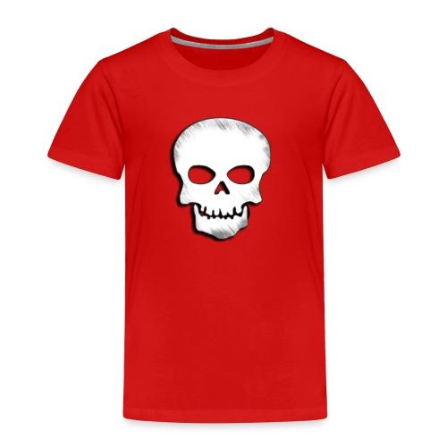 Skull Zone Logo - Toddler Premium T-Shirt